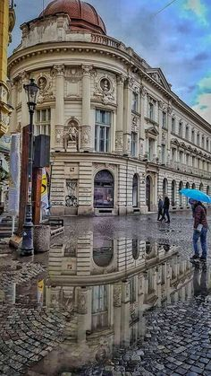 Bucharest Street view -Old Town #Romania #architecture #beautiful