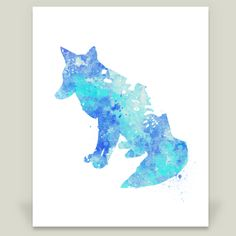 Fun Indie Art from BoomBoomPrints.com! http://www.boomboomprints.com/Product/miaomiaodesigns/Water_Color_Fox__4/Art_Prints/8x10_Print/