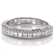 Stunning #ChannelSetBand with micropave diamonds. -Passion Band from #KnoxJewelers