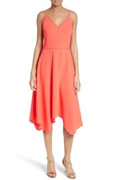 aeab5e522f53b Ted Baker London Simbah Scallop Handkerchief Hem Dress available at   Nordstrom Contemporary Dresses