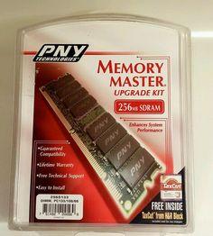 Memory Master Upgrade Kit 256 mb sdram PNY Technologies #PNY