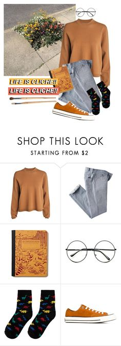 """""""Lovely Gal"""" by sleepy-sarcasm ❤ liked on Polyvore featuring Acne Studios, 7 For All Mankind, Retrò, Converse, women's clothing, women's fashion, women, female, woman and misses"""