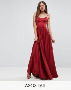 ASOS TALL Square Neck Cami Maxi Dress