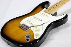 Fender Japan ST57-70 2-Tone Sunburst MOD  Used Electric Guitar Free shipping EMS…