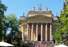 Eger, Hungary 'I have to go to Eger! Since my heart cannot surmount this much sweet temptation' – wrote Sándor Petőfi in his poem' Next to Eger'. Truly, the enchanting city of Eger is rich in. Beautiful Buildings, Budapest, To Go, Mansions, House Styles, City, Hungary, Mansion Houses, Manor Houses