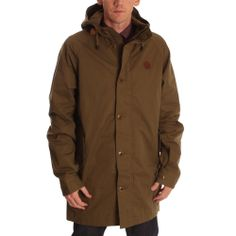 Fred Perry Mens Olive Fishtail Parka www.ark.co.uk/male #mens #fredperry #mod #style
