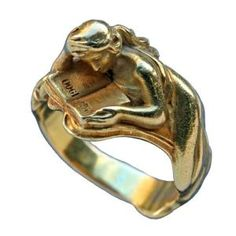 LOUIS ZORRA Art Nouveau Ring / France / DATE OF MANUFACTURE: circa 1900 by brittney