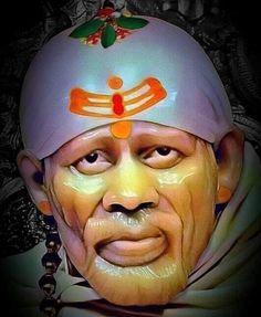 Sai Baba Hd Wallpaper, Sai Baba Wallpapers, Apple Wallpaper Iphone, Ganesha Drawing, Sai Baba Pictures, Sai Baba Quotes, Swami Samarth, Baba Image, Face Images