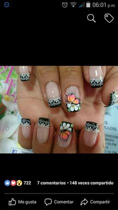 Great Nails, Love Nails, Fun Nails, French Polish, French Tip Nails, Color For Nails, Nail Colors, Stylish Nails, Trendy Nails
