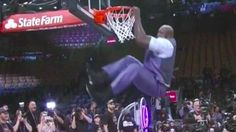 Charles Barkley bet Shaq couldn't dunk anymore. He was wrong. http://ift.tt/1ogUsBY  Shaq might just be the best 43-year-old dunker in the (post)NBA.  During the NBA All-Star Weekend last night NBA Analyst Charles Barkeley challenged 7-foot-tall Shaquille ONeal to a bet. He didnt believe he had it in him anymore to dunk.  See also: Baller cop recruits Shaq to play in pickup basketball game against kids  So Shaq showed him and mightily. The man didnt even mess up his tie.  The consequences…