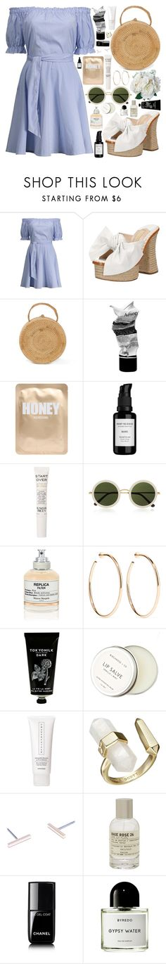 """I - D O / /"" by douxlaur ❤ liked on Polyvore featuring Paloma Barceló, Aesop, Lapcos, Root Science, Sunday Riley, The Row, Maison Margiela, Jennifer Fisher, TokyoMilk and Birchrose + Co."