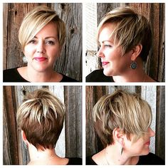 With convenient nationwide locations, Mynd Spa & Salon offers professional beauty salon services and spa treatments for face and body. Pixie Cuts, Short Hair Cuts, Pretty Hairstyles, Short Hairstyles, Short Bridal Hair, Short Blonde Bobs, Cute Short Haircuts, Salon Services, Spa Treatments