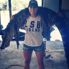 Tiger bait!!! #LSU