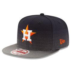 Houston Astros New Era Flow Flect Original Fit 9FIFTY Snapback Adjustable Hat - Navy