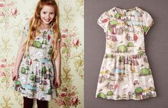 Presenting the Printed Tea Dress, new for Autumn 2013.