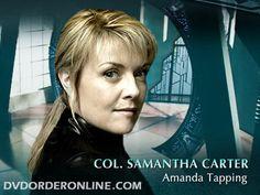 Amanda Tapping- Col. Samantha Carter- Stargate SG-1; Stargate Atlantis