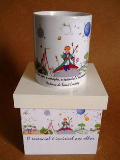 Caneca Com Caixa - Pequeno Principe BR$39