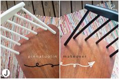Chair Makeover, Clothes Hanger, Garden Tools, Monochrome, Mid-century Modern, Sweet Home, Mid Century, Deco, Kitchen