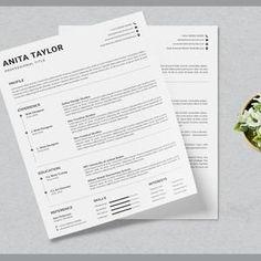 Resume template instant download  resume template wordresume image 7 Hr Resume, Infographic Resume, Resume Objective Examples, Good Resume Examples, Resume Writing Tips, Resume Tips, Modern Resume Template, Creative Resume Templates, Hairstylist Resume