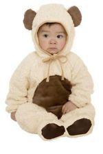 Oatmeal Bear Teddy Animal Plush Halloween Infant Toddler Child Costume
