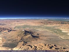 Ararat from space