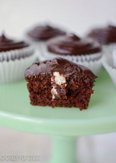 The BEST Chocolate Cupcakes!