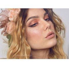 "Linda Hallberg on Instagram: ""#fotd #freckles #lindahallberg #makeup"" ❤ liked on Polyvore featuring beauty products and makeup"