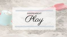 Independent play button