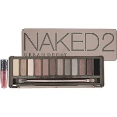 Urban Decay Naked2 ($54) ❤ liked on Polyvore featuring beauty products, makeup, eye makeup, eyeshadow, beauty, cosmetics, eyes, urban decay eyeshadow, pencil eyeliner and urban decay eye shadow