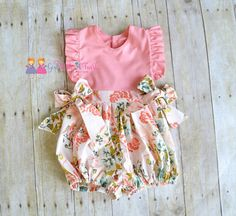 Hey, I found this really awesome Etsy listing at https://www.etsy.com/listing/294647563/baby-bubble-romper-ruffle-romper-toddler