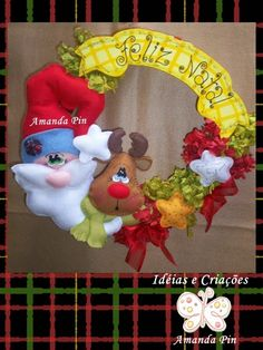 Christmas Crafts, Christmas Ornaments, Masquerade, Folk Art, Frozen, Santa, Holiday Decor, Projects, Angeles