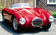 Osca MT4 Spider : 1955