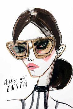 Arte Fashion para se Inspirar no Instagram
