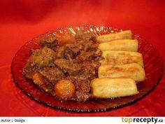 Hovězí po provensálsku Crockpot, Pork, Beef, Kale Stir Fry, Meat, Pigs, Crock Pot, Ox, Crock