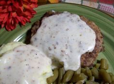 Country Fried Hamburger Steaks With Gravy Recipe