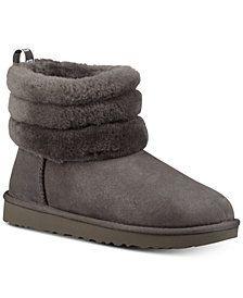 6e907270c91 UGG® Women s Fluff Mini Quilted  Boots  Macys  Fashion  Shoes  Womens