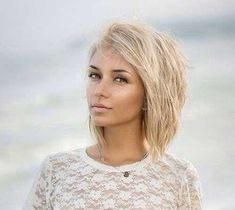 Cute Short Blonde Haircut best short hairstyles 2016-2017 #BlondeHairstyles