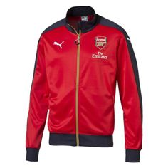 Show off your Arsenal pride now matter what the time of year. Get a new Arsenal jacket today.  Puma Arsenal Home Stadium Jacket (High Risk Red/Black Iris/Victory Gold)  http://www.soccercorner.com/Puma-Arsenal-Home-Stadium-Jacket-p/tj-pu747598-01.htm