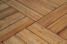Bamboo flooring is eco-friendly, cheap, and pretty Bamboo Decking, Basement Flooring, Decks, Hardwood Floors, Beach House, Eco Friendly, Tiles, Thoughts, Interior Design