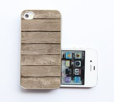 iPhone 5 Case Wood Print by Antra