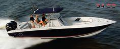 New 2012 Fountain Boats 34 Sportfish CC Open Bow Express Fisherman Boat