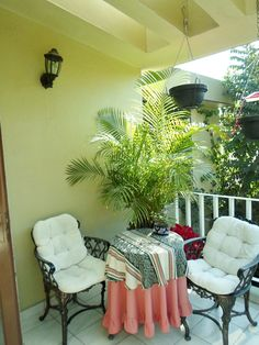 Private balcony off of Master Suite at Expo GDL-House
