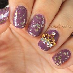 Princess Nails #ruthsnailart #nailart