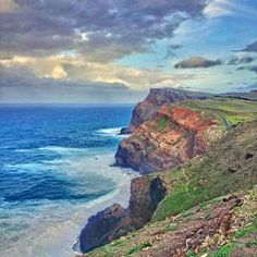 The rocky coastline of Madeira by @octaviocalaca ! This picture was shared with us through the hashtag #liveportugal on Instagram