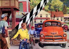 Plan59 :: Classic Truck Art :: 1954 Chevrolet Trucks