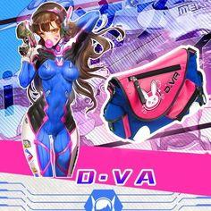 Overwatch D.VA Bunny Shoulder Backpack KW179481