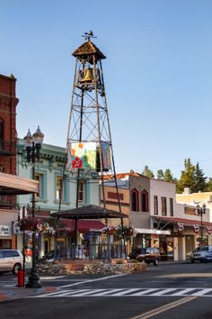 Bell Tower, Placerville, CA. One of the most iconic monuments of the county. You definitely have to see it once. They even have a Bell Tower Brewfest each year with awesome local brews.  Want to see more events? Visit: http://visit-eldorado.com/
