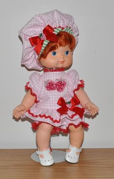 Strawberry Shortcake Outfit.