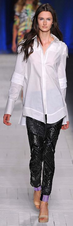 Just Cavalli Spring Summer 2013 Ready to Wear Collection ~ Love this ♥