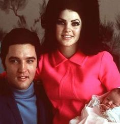 The birth of their only child, named Lisa Marie Presley was born in Memphis, Tennessee, exactly nine months after her parents' wedding. She lived at Graceland, Elvis' Memphis estate, until her parents' separated in 1972. Following their separation, and subsequent divorce, she divided her time between living at Graceland with her father and in Beverly Hills with her mother. This arrangement continued until her father died on August 16, 1977, after which she lived exclusively in Beverly Hills.